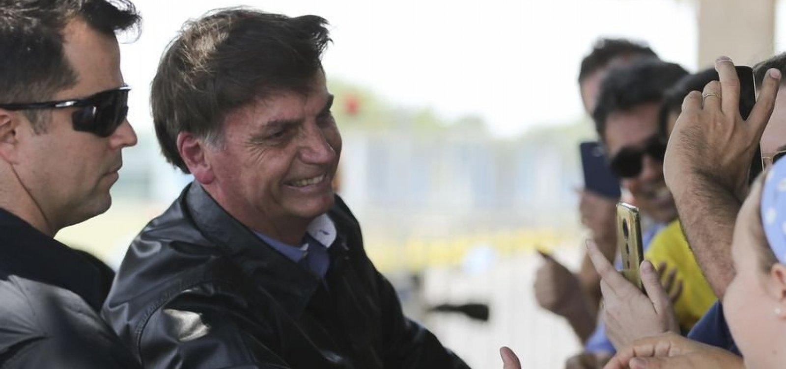 Bolsonaro diz desconhecer 'laranjal' do PSL e cita período no hospital