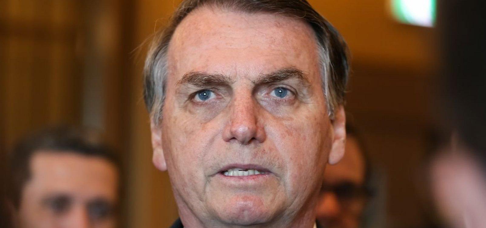 Bolsonaro volta a acusar Witzel de manipular investigações do caso Marielle
