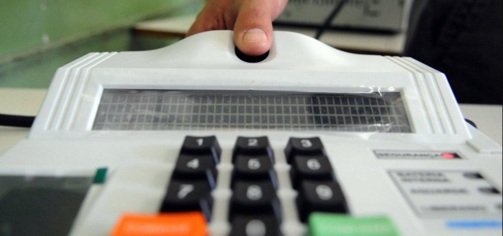 Mais de 87% dos eleitores baianos fizeram a biometria, diz TRE