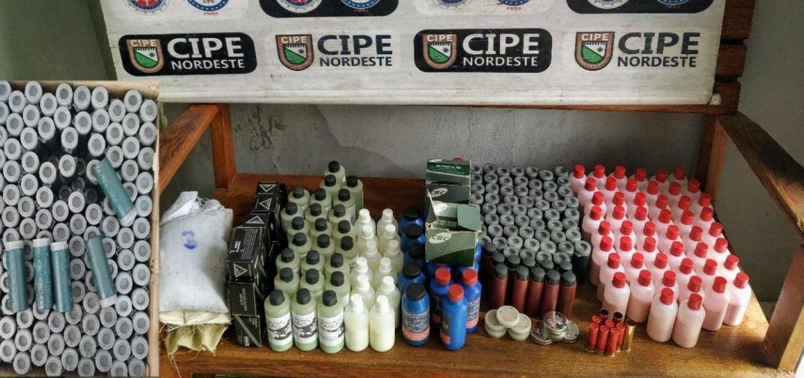 Fábrica clandestina de munições é desarticulada em Monte Santo