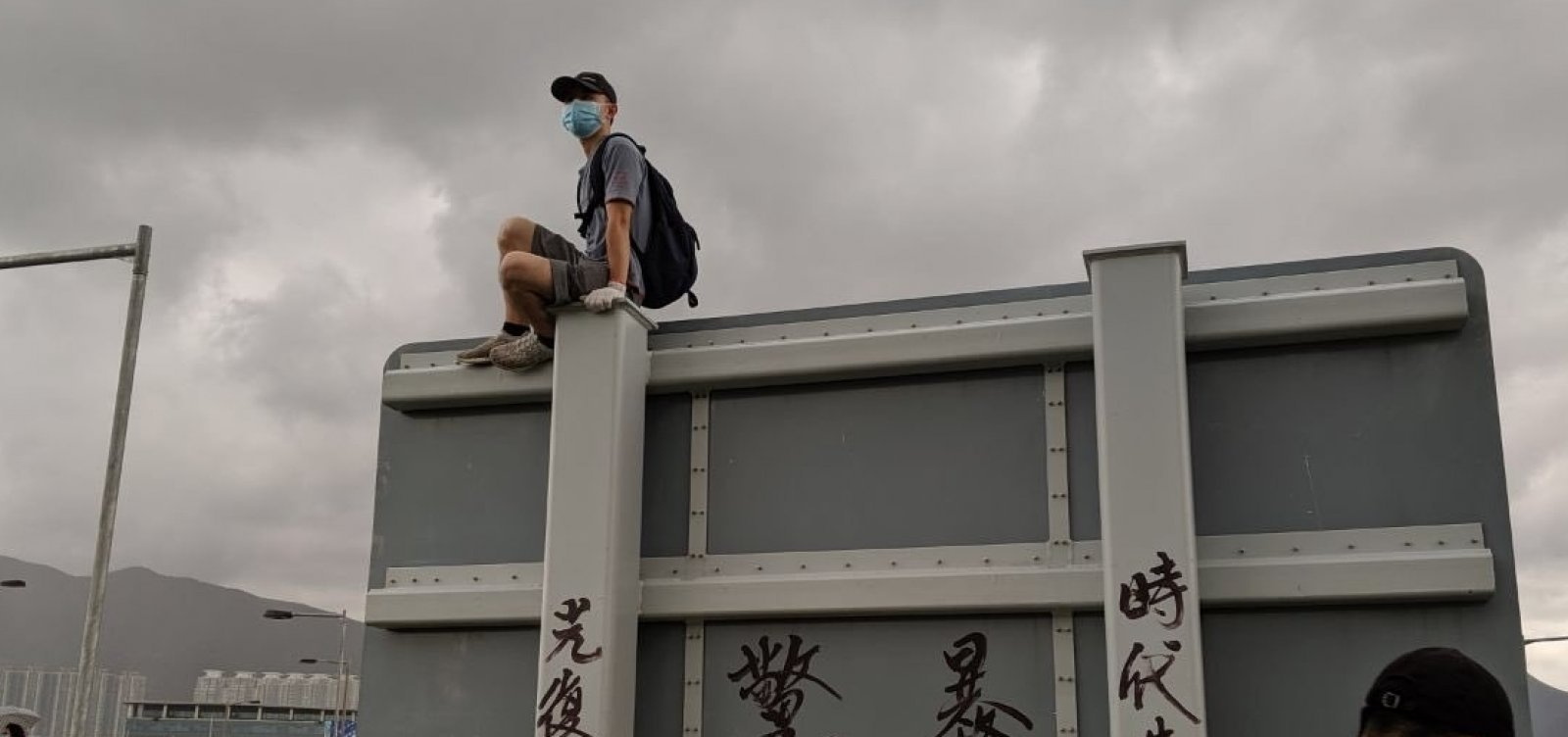 Maior protesto desde junho ocorre em Hong Kong neste sábado