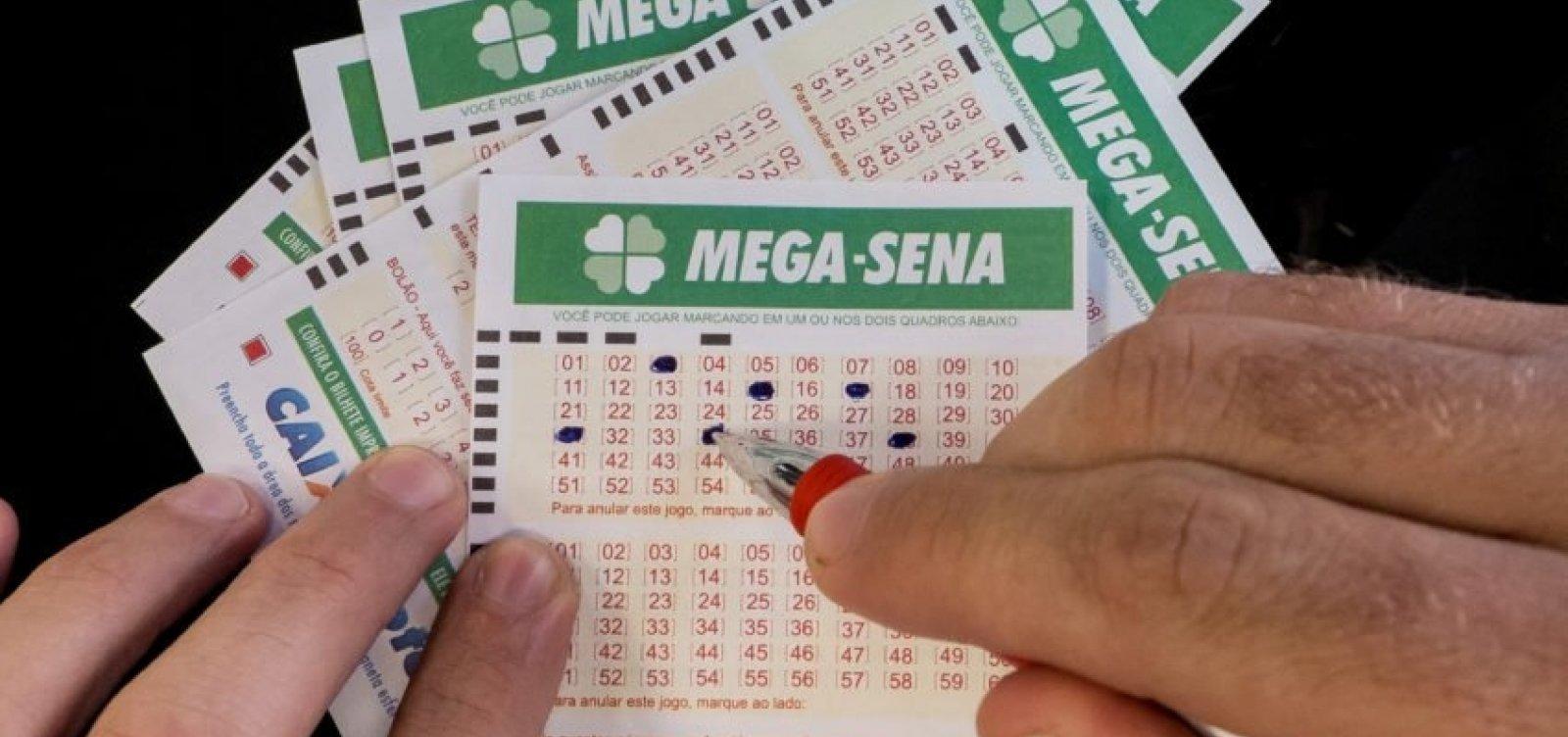 Mega-Sena sorteia R$ 40 milhões nesta segunda-feira