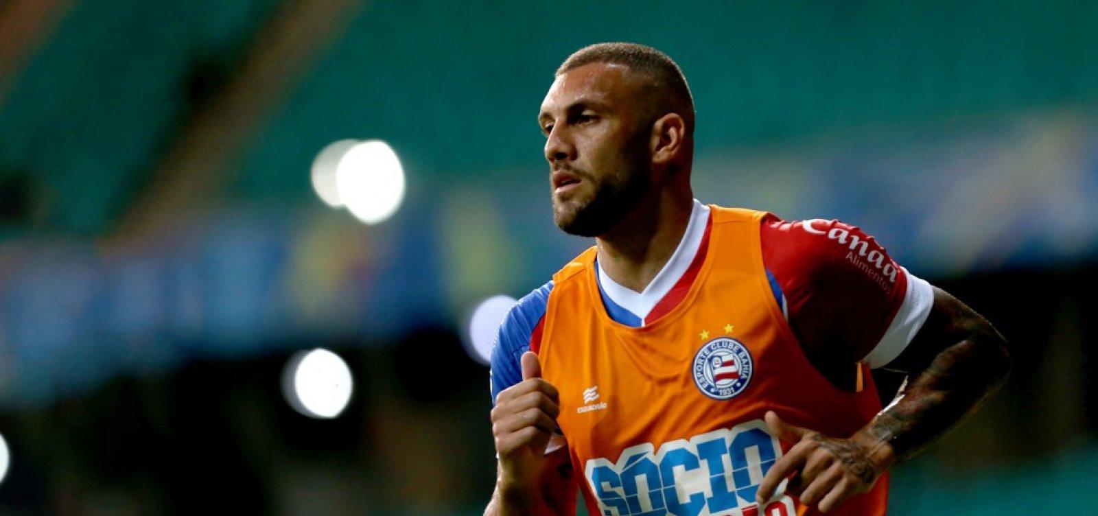 Fernandão reconhece dificuldade da partida, mas diz que Bahia merecia vencer o Cruzeiro