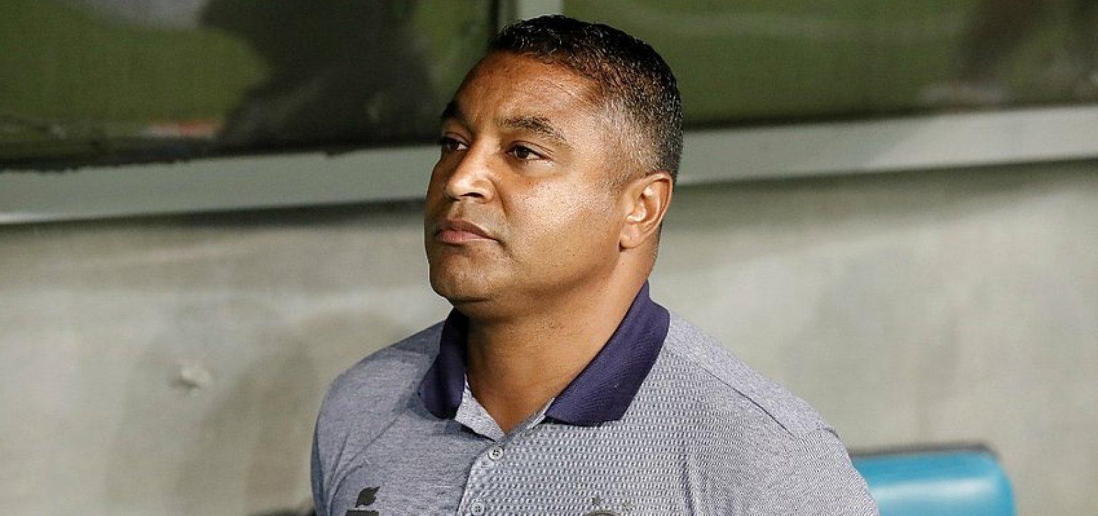 'Valeu pelo retorno da confiança', diz Roger após empate entre Bahia e Cruzeiro