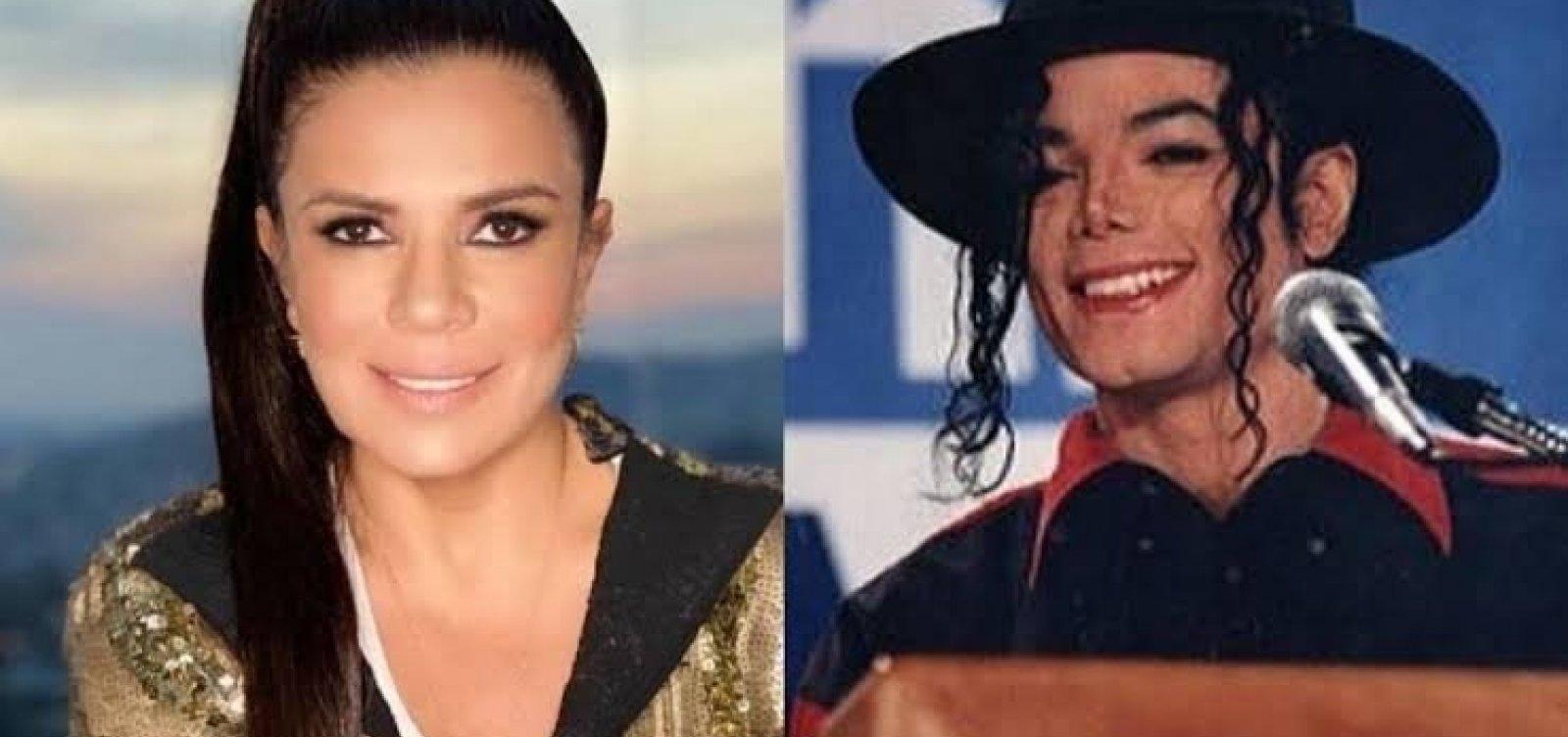 'Acho que Michael Jackson me imitou', diz Mara Maravilha