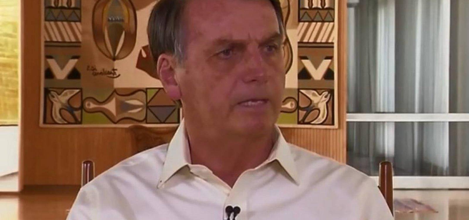 'O pior está por vir', diz Bolsonaro sobre manchas de óleo no Nordeste