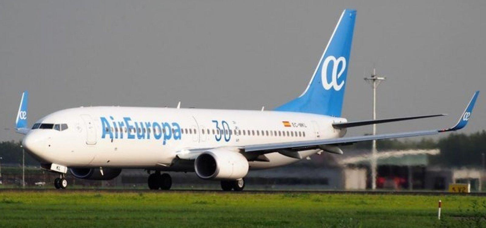 Air Europa é comprada pela IAG por um bilhão de euros