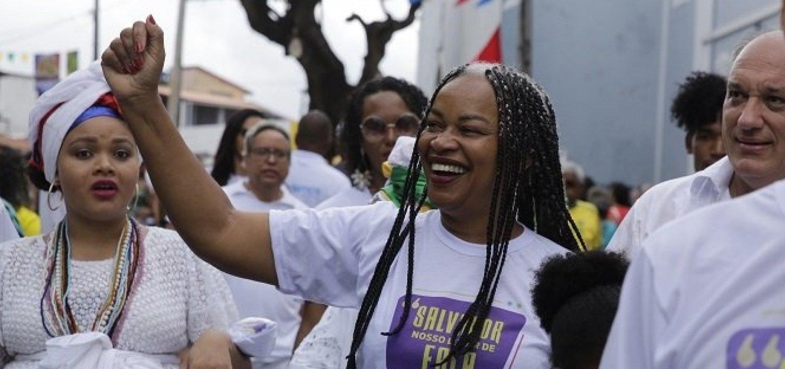 Olívia Santana é anunciada como pré-candidata do PCdoB à prefeitura de Salvador