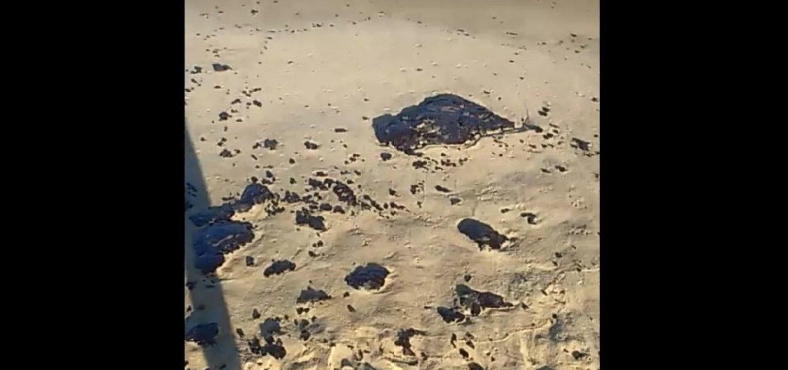 Cidade de Prado, no extremo sul, é a 27ª atingida por óleo na Bahia