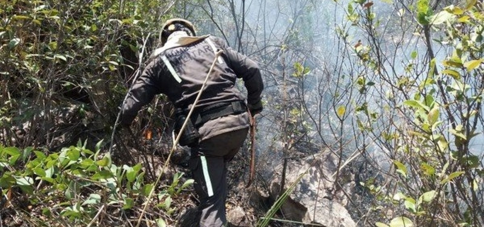 Após quase uma semana, incêndios na Chapada Diamantina ainda não foram debelados