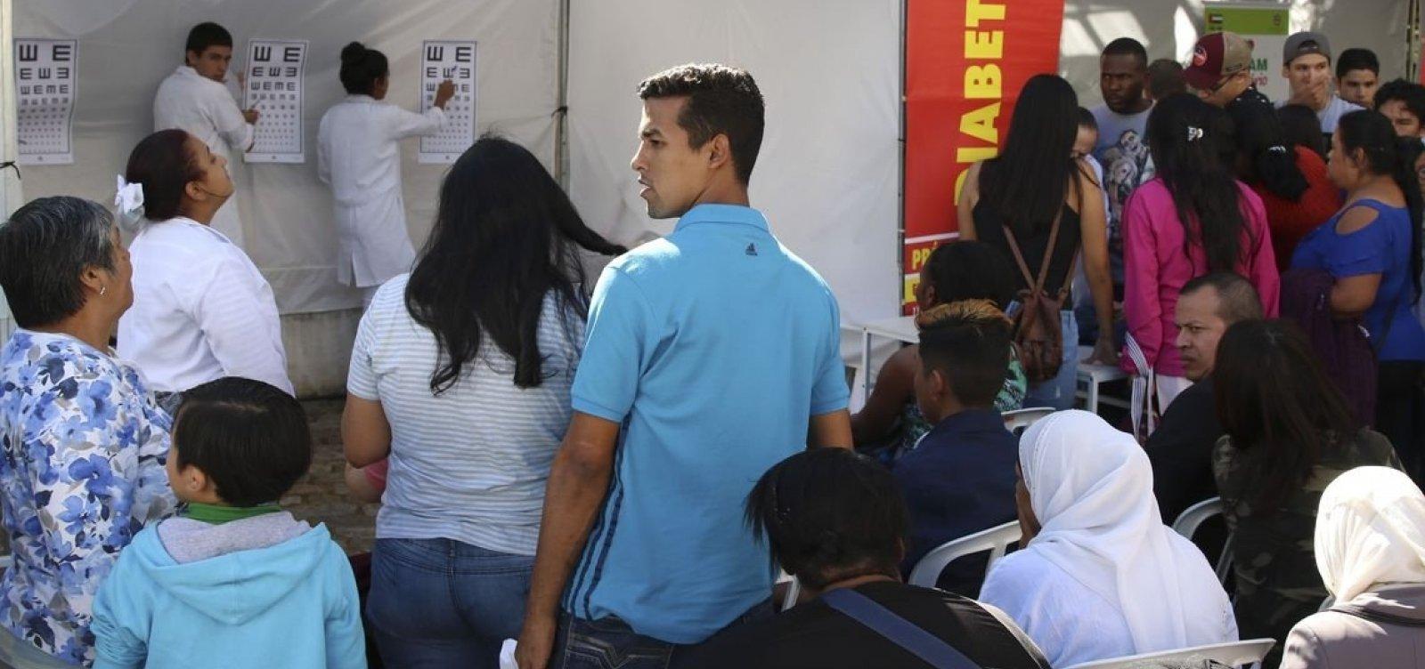 Sistema Acolhedor é criado para cadastro de imigrantes venezuelanos