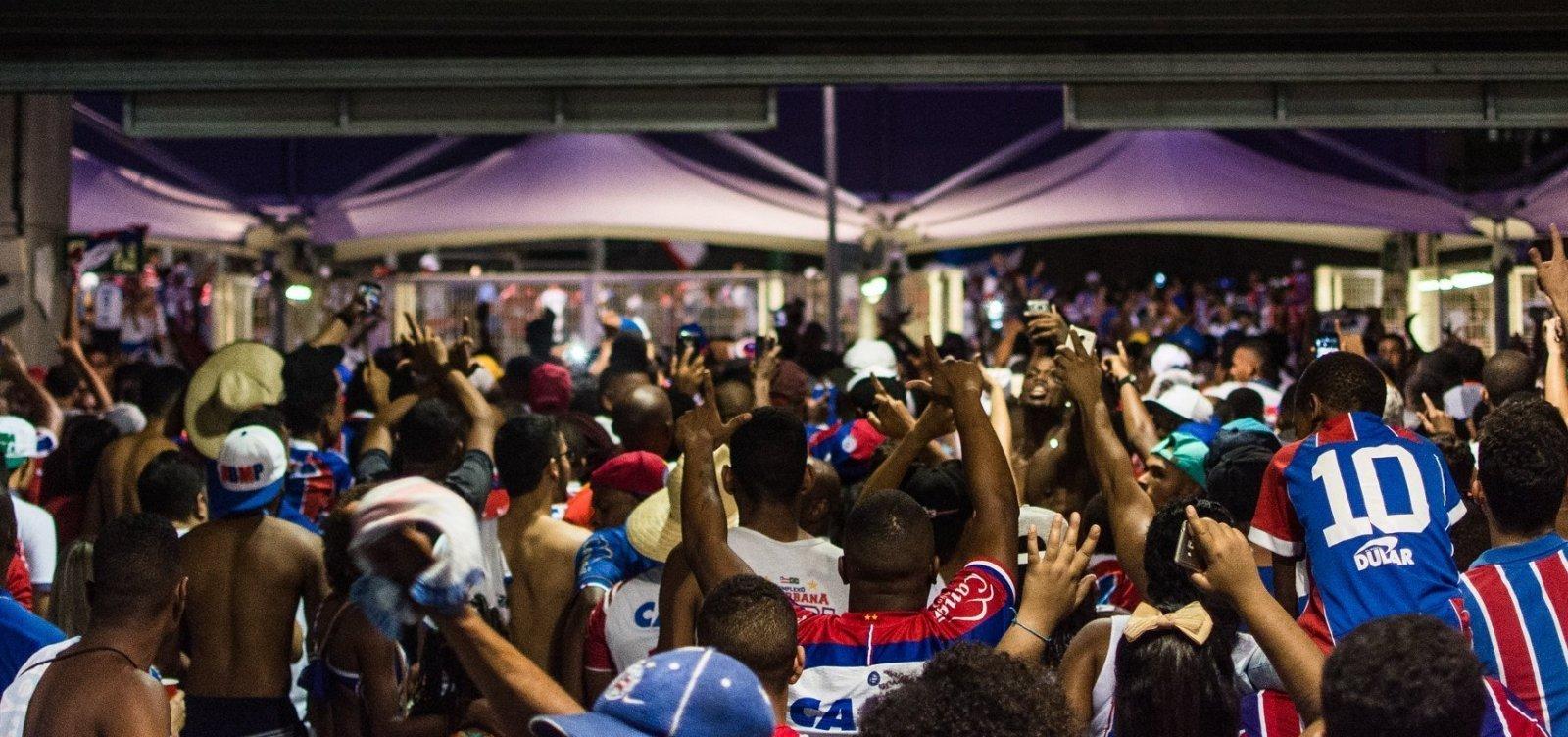 Venda em pontos físicos para Bahia x Chapecoense começa hoje