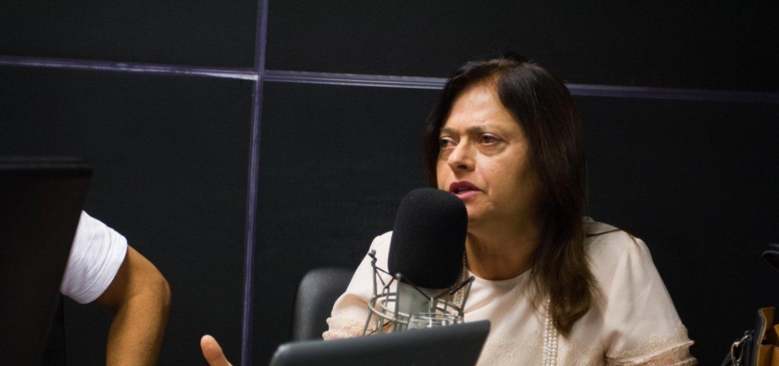 Após faltar a lançamento de campanha, Alice Portugal promete apoio a Olívia Santana