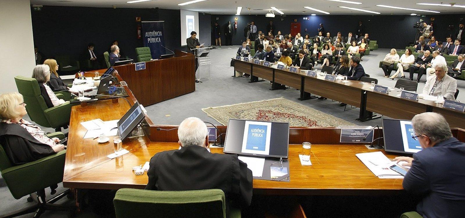 'Censura não se debate, censura se combate', diz Carmen Lúcia em audiência no STF