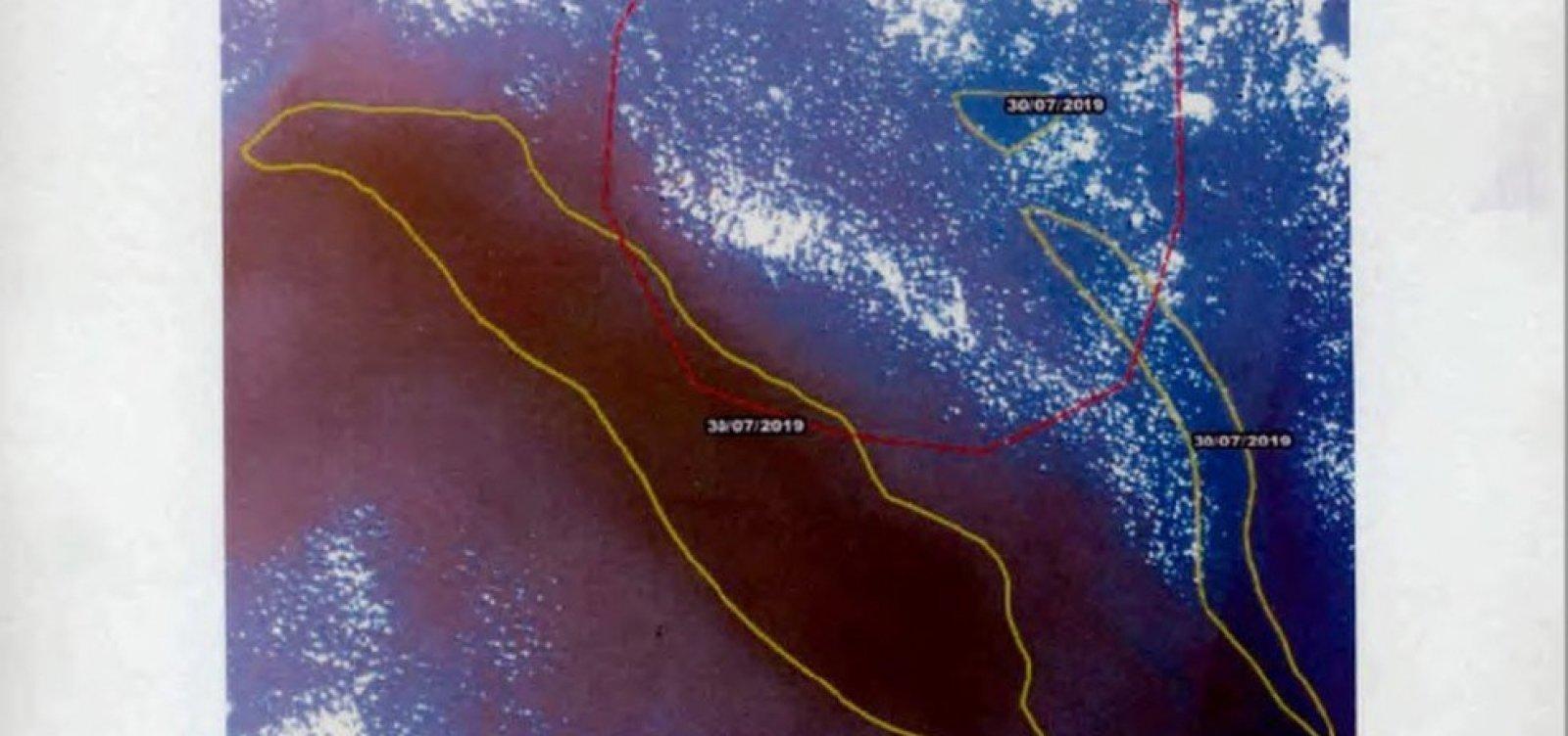 Parecer do Ibama diz que satélites 'não têm condições' de apontar manchas de óleo no oceano