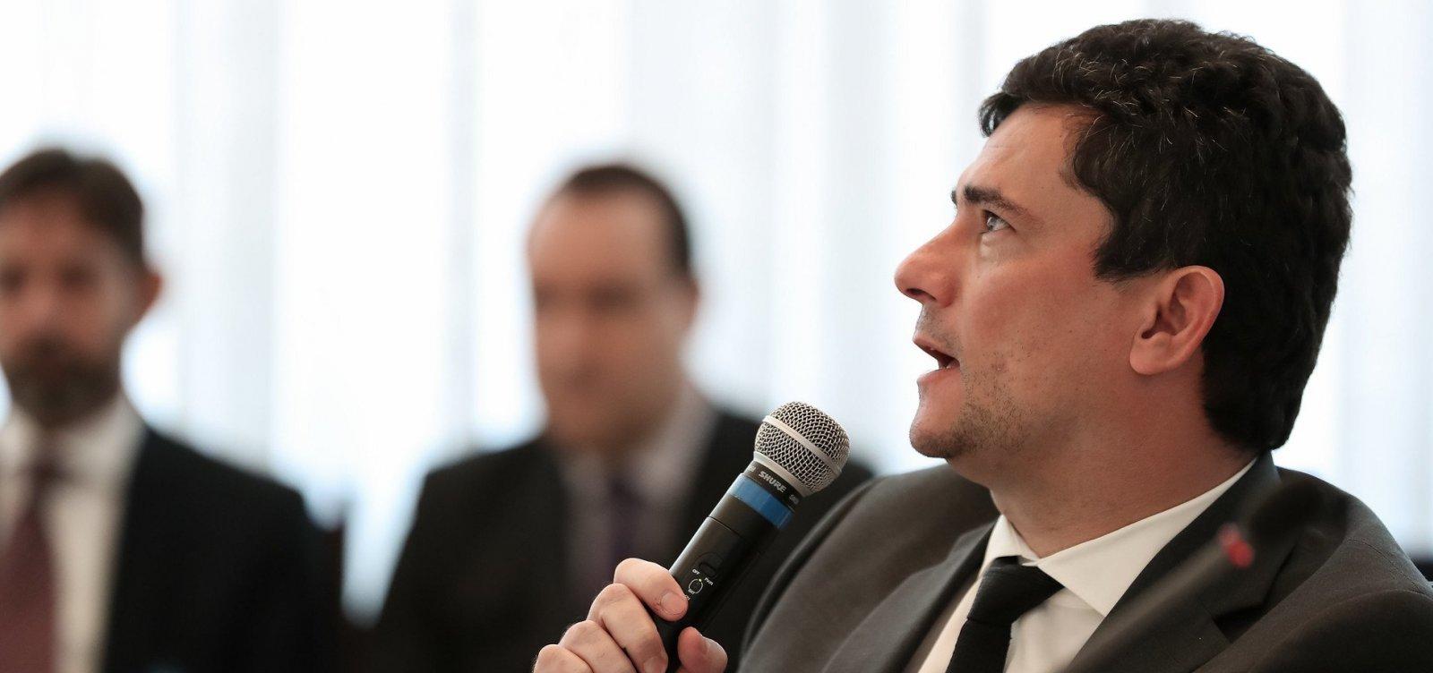Moro defende Bolsonaro: 'Copiar áudio do porteiro não é obstrução'