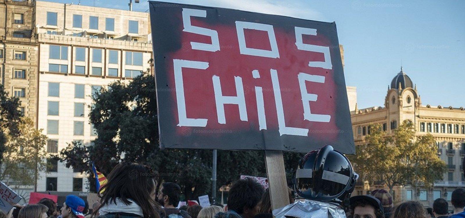 Presidente do Chile garante que não vai renunciar ao cargo