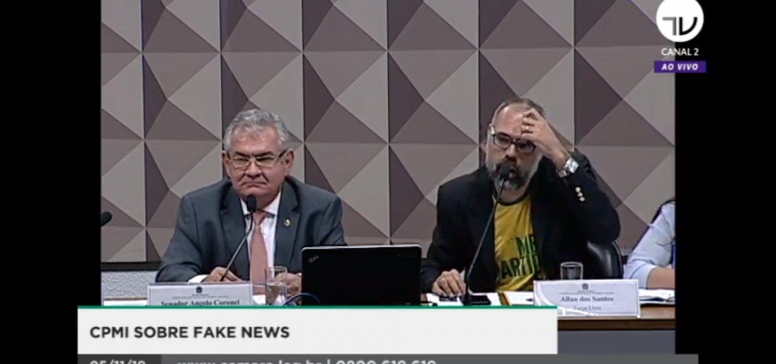 Terra plana e 'ingrês' movimentam CPMI das fake news; veja