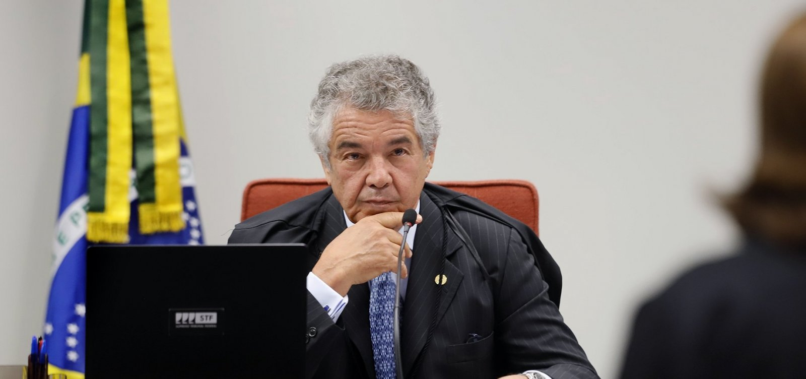 Marco Aurélio critica advogada baiana por se referir a ministros do STF como 'vocês'; veja