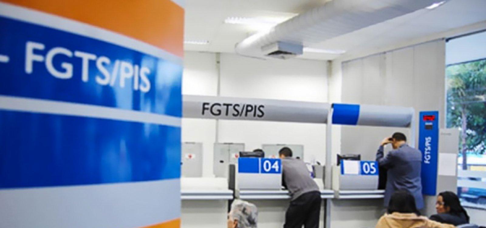 Comissão aprova aumento de saque do FGTS para R$ 998