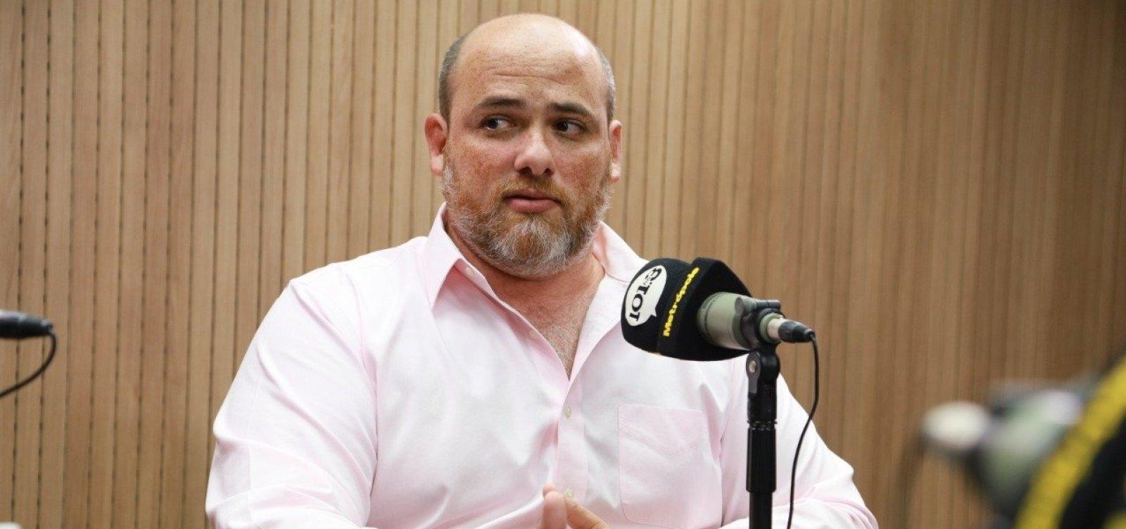 'A esquerda continua a tratar de pautas secundárias e esquece do povo', diz Rodrigo Hita