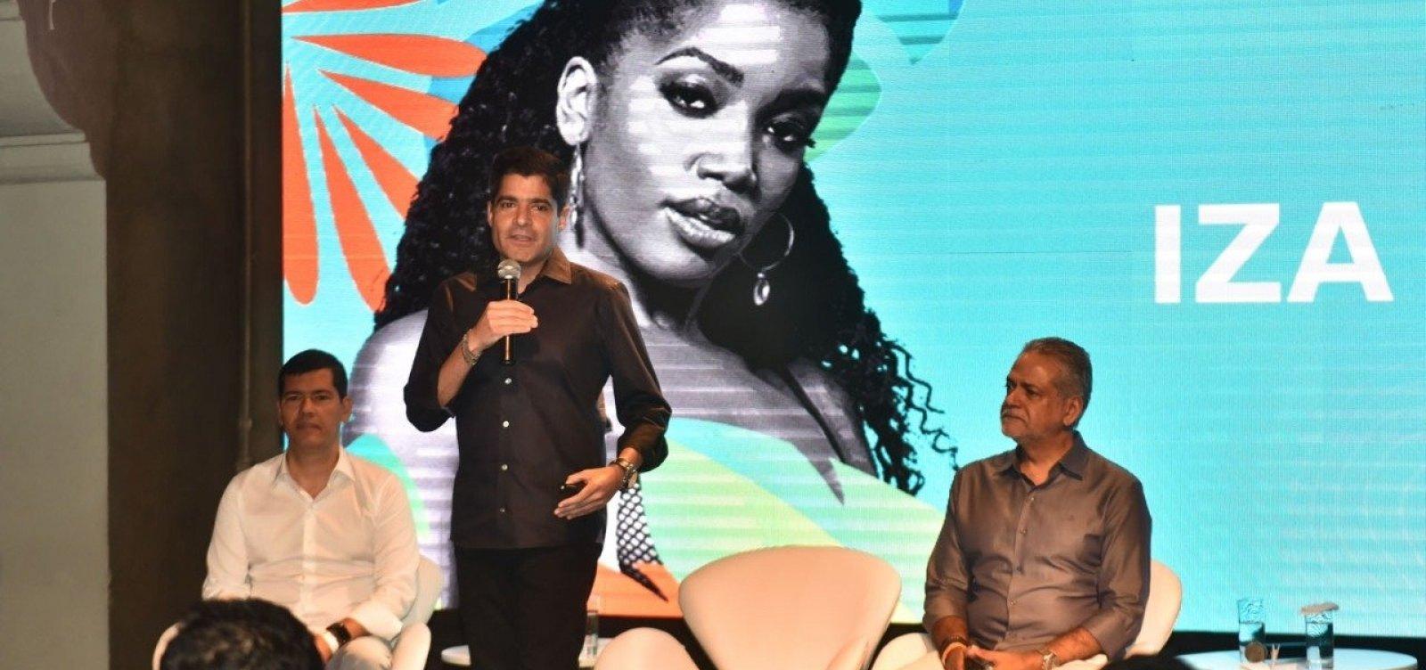 Festival da Virada em Salvador terá Iza e Claudia Leitte