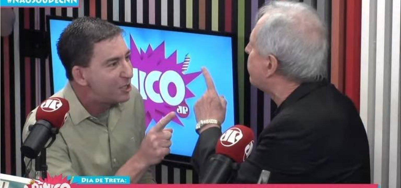 Em carta a Glenn Greenwald, Lula parabeniza o jornalista e chama Augusto Nunes de 'figura nojenta'