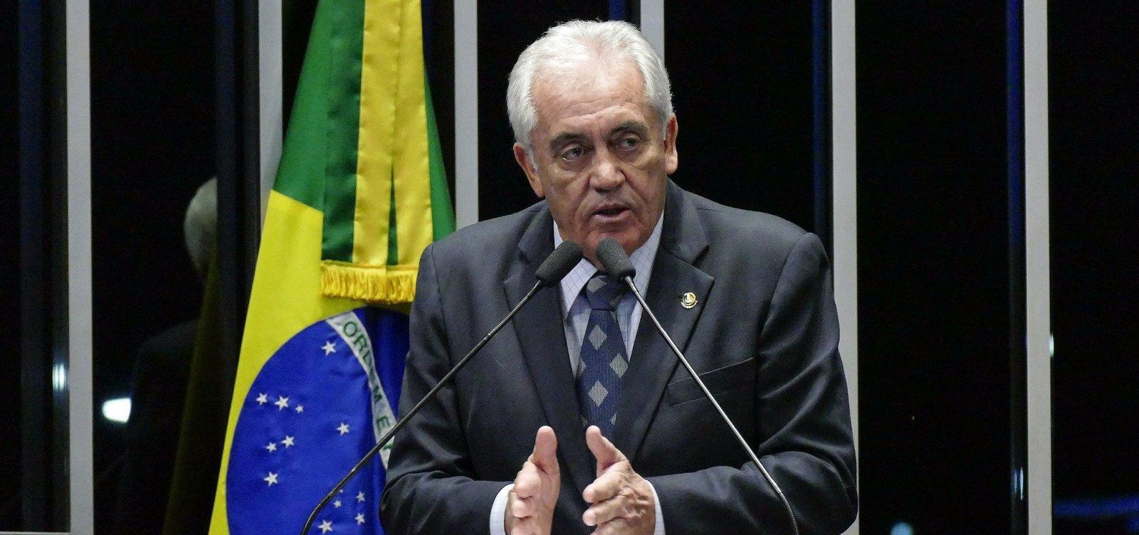 'Soltura de Lula mostra insegurança jurídica que o Brasil vive', avalia Otto Alencar