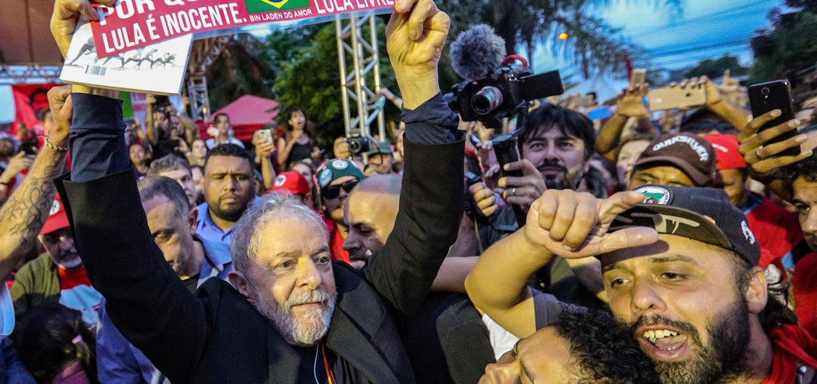 Lula deve retomar agenda partidária e pode visitar Salvador até o final de ano