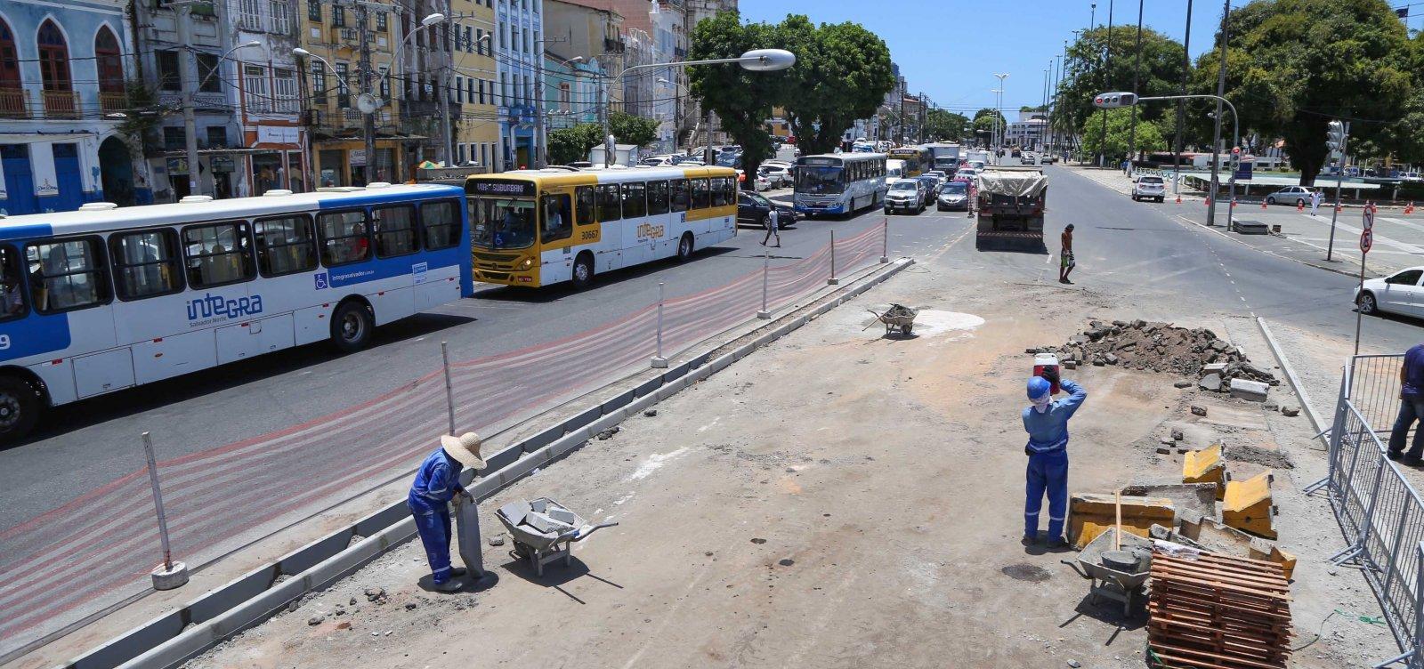 Tráfego na região da Praça Cairu é alterado a partir de hoje