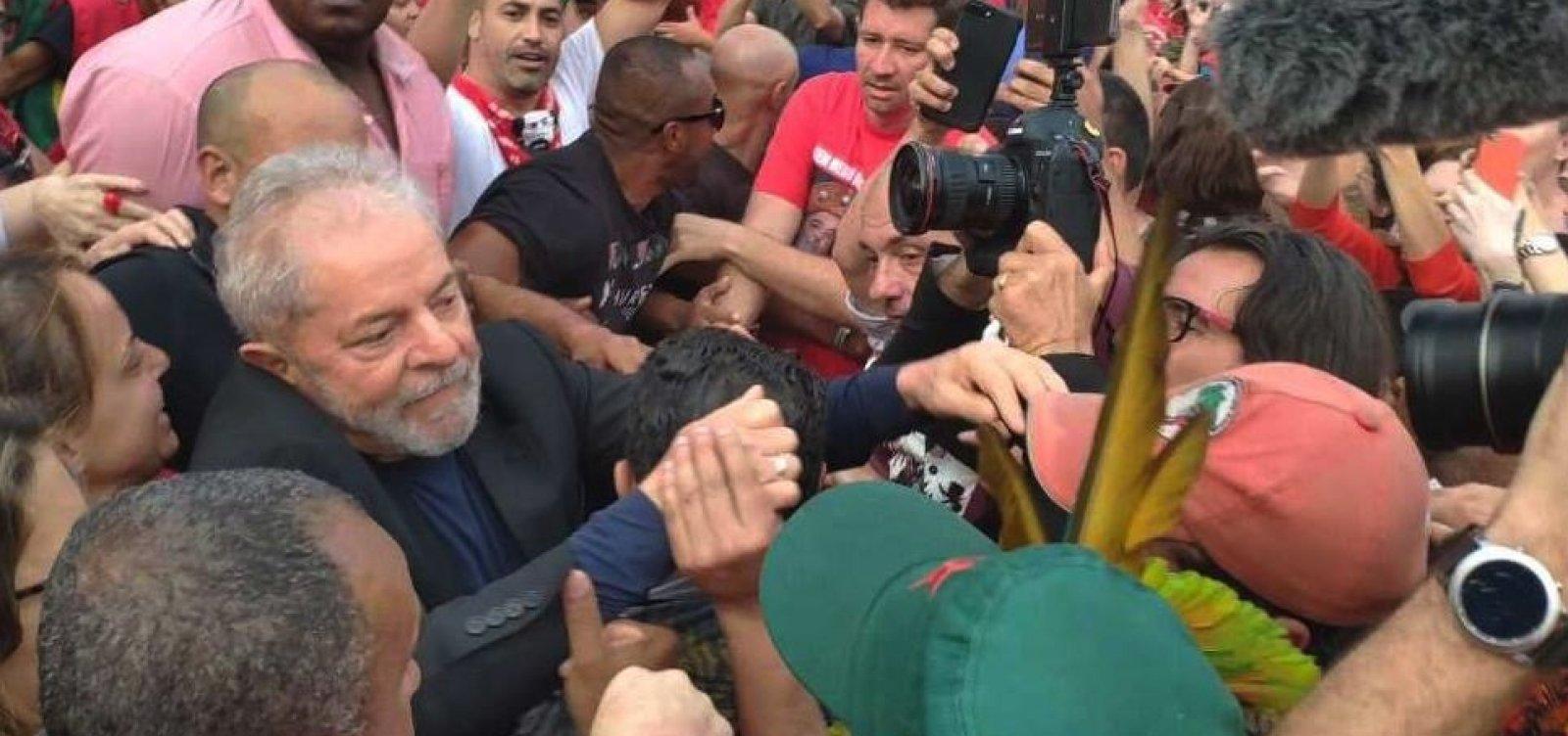 Lula estará em Salvador na próxima quinta-feira, dizem aliados