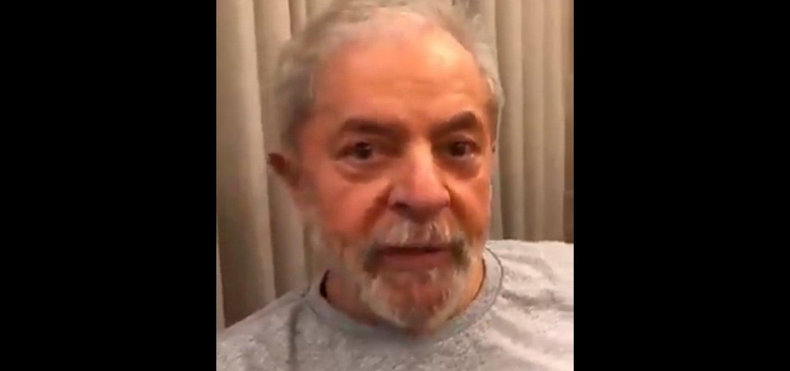 'Tenho 30 anos de energia e 20 anos de tesão', diz Lula em vídeo nas redes sociais