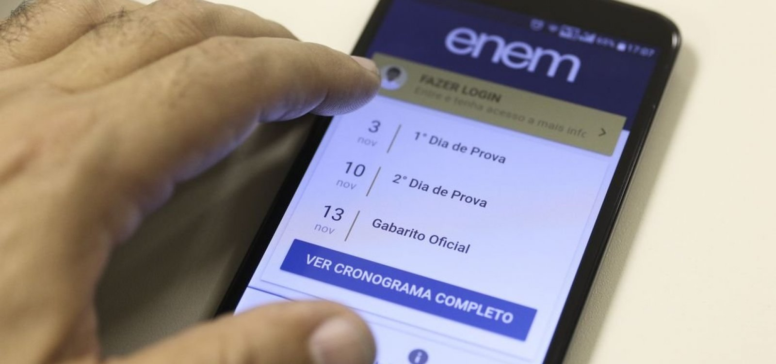 PF investiga irregularidades no Enem na Bahia e no Rio