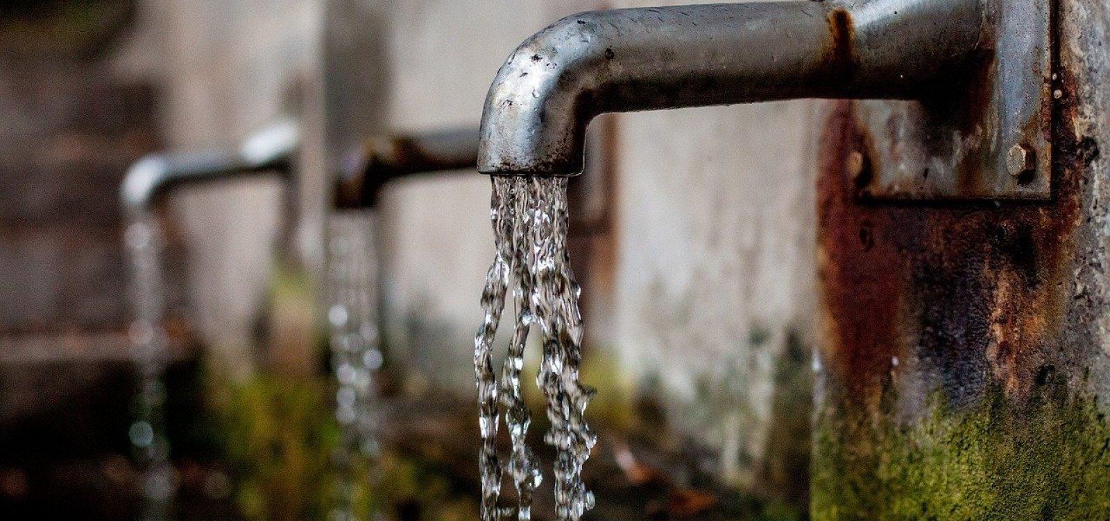 Mais de 30 bairros de Salvador ficarão sem água nesta segunda-feira