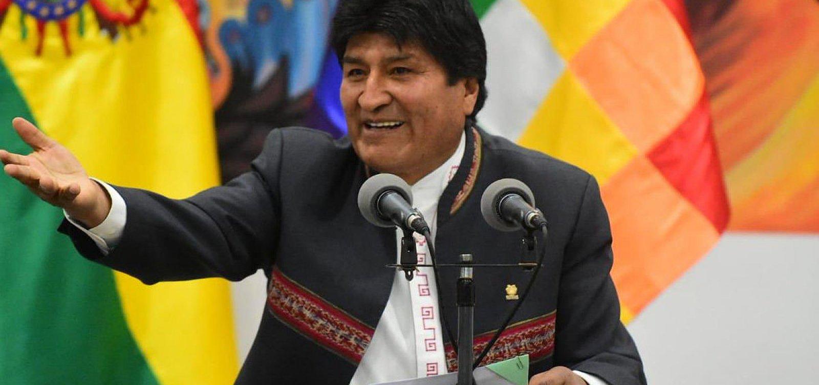 Forças Armadas pedem que Evo Morales renuncie à presidência