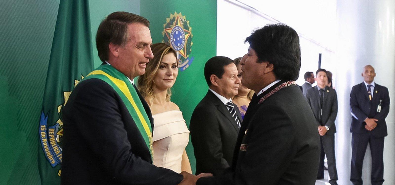 Bolsonaro defende voto impresso após crise na Bolívia, onde o voto é impresso