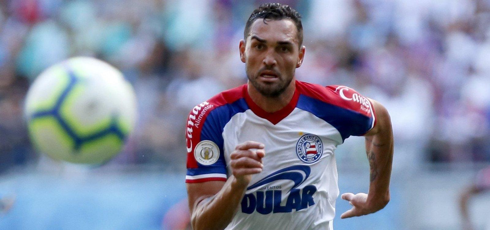 Gilberto pede desculpas ao Bahia após reforçar desejo de jogar no Flamengo