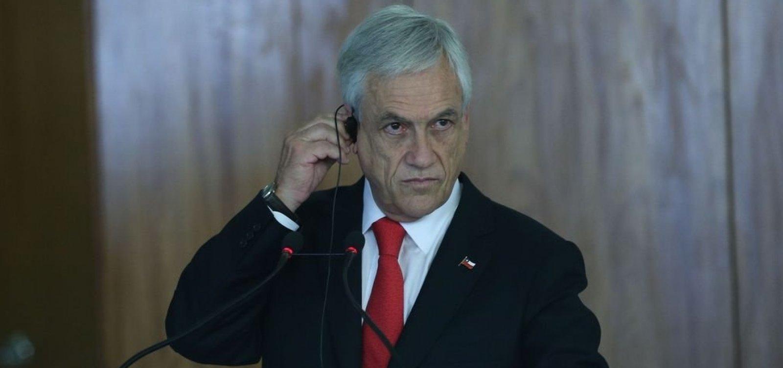 Chile anuncia processo para nova Constituição