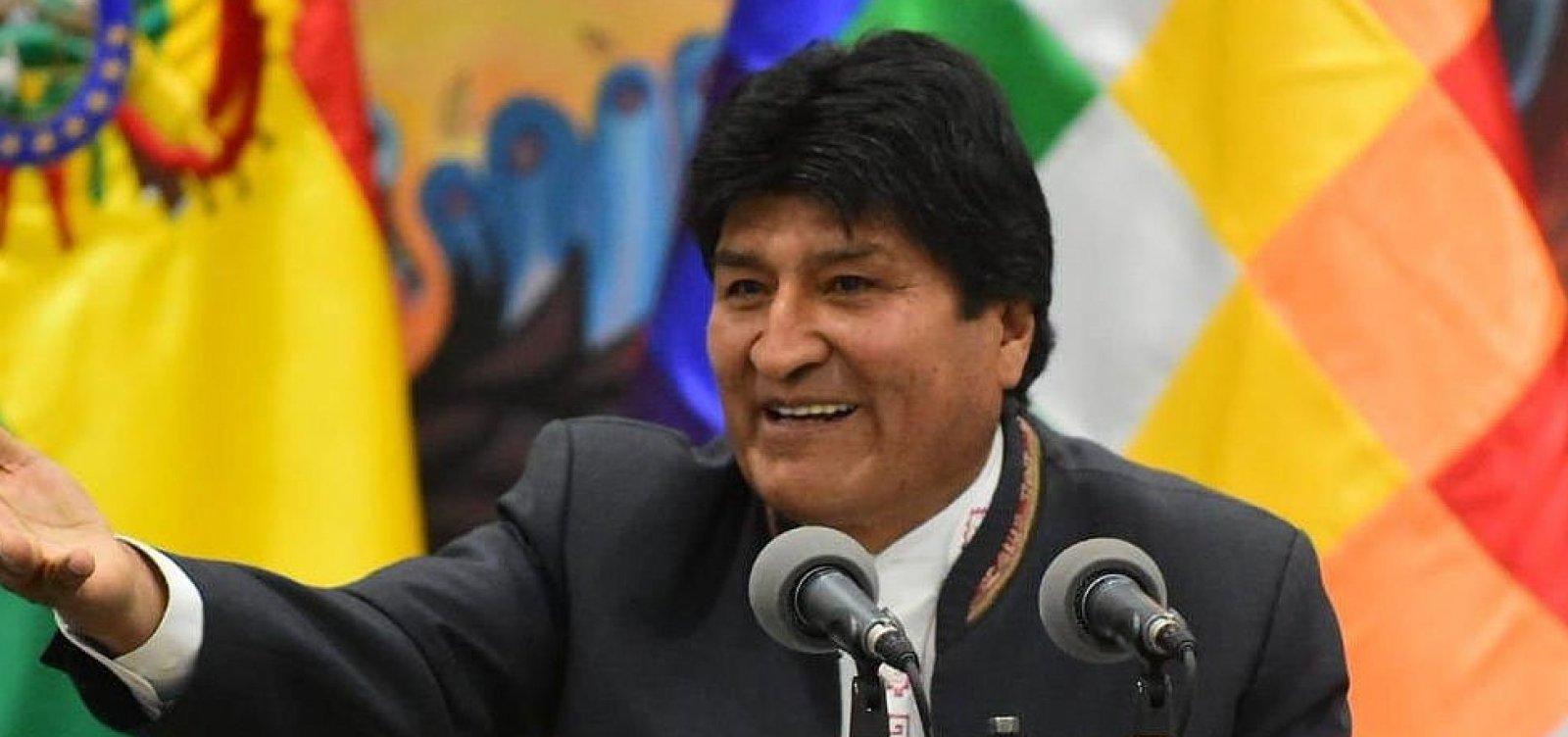Evo Morales aceita asilo oferecido pelo México