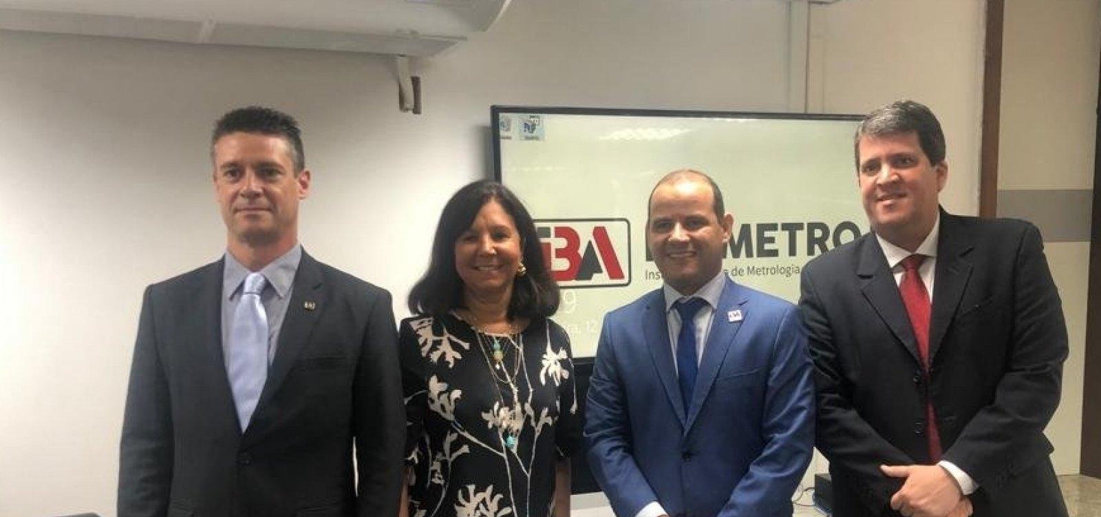 Ibametro renova convênio com Inmetro e Governo da Bahia