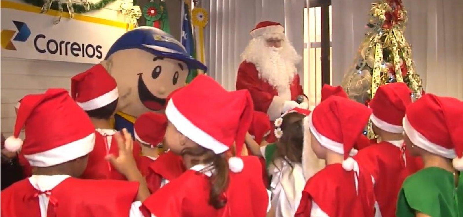 Adoções online do Papai Noel dos Correios estão disponíveis