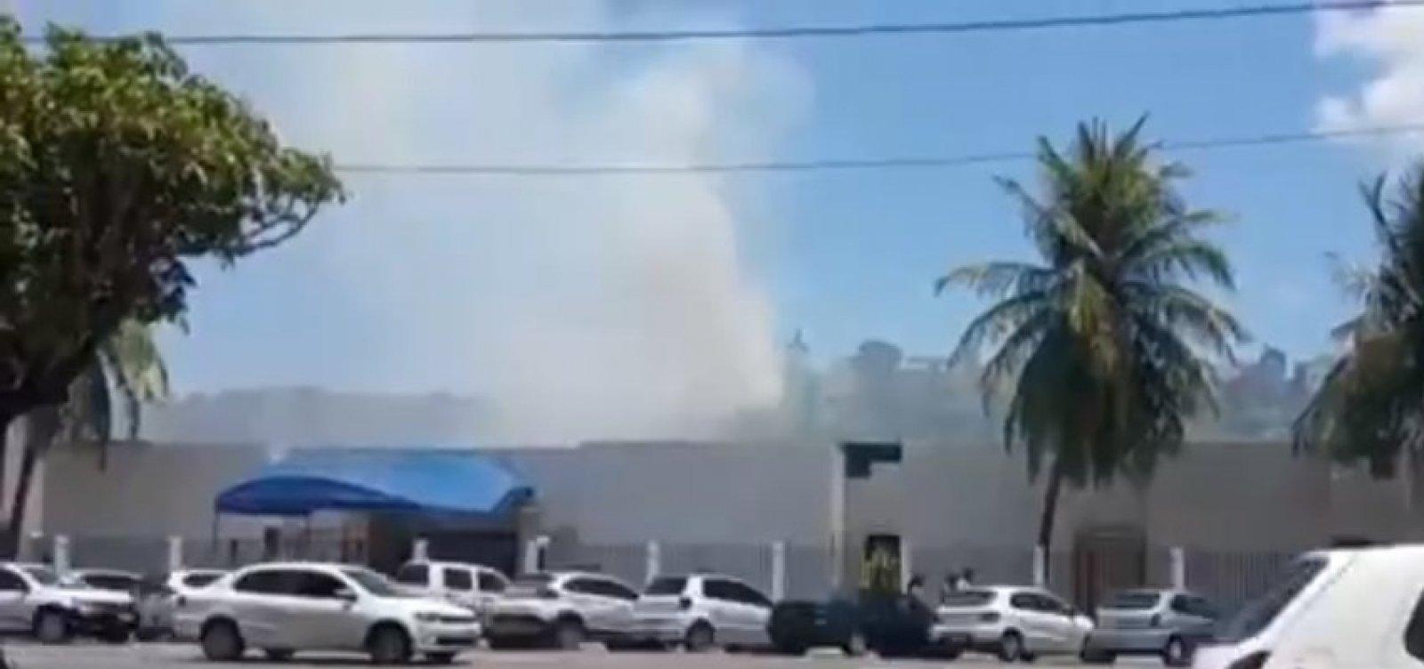Incêndio atinge vegetação no Santo Antônio Além do Carmo