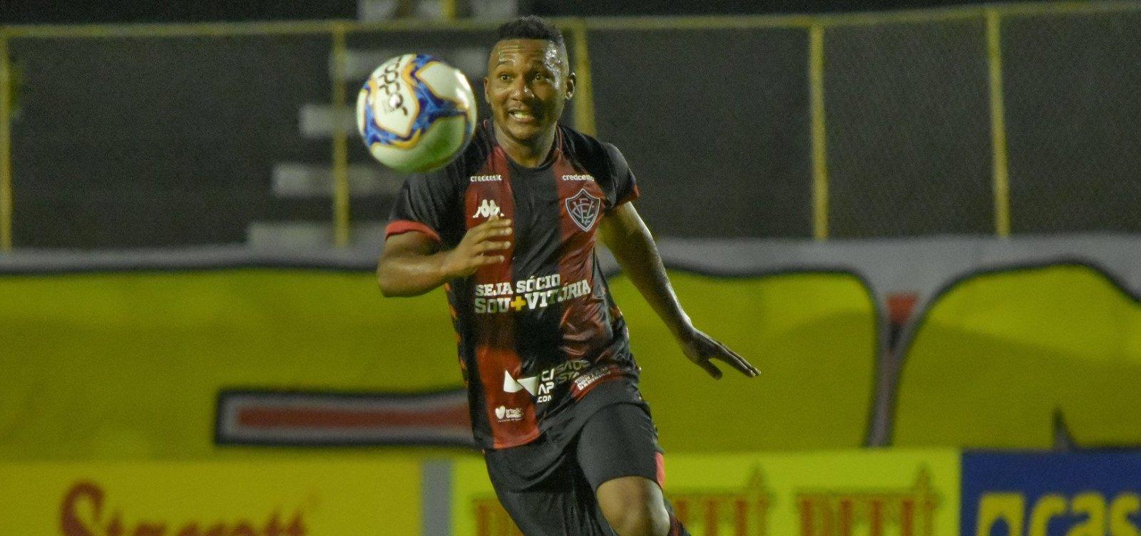 Vitória arranca empate em 2 a 2 com o CRB no Barradão