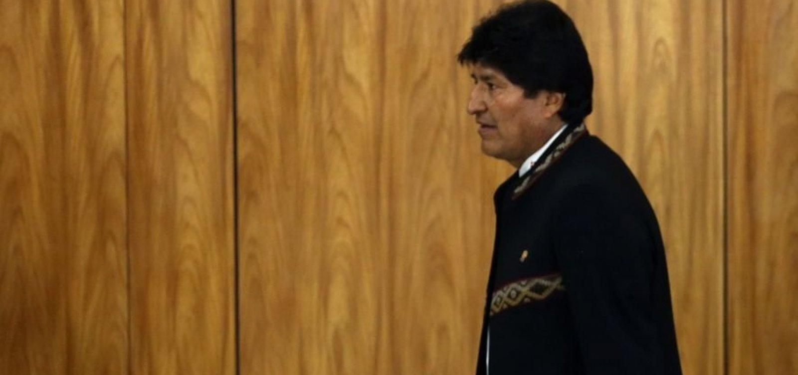 Secretário-geral da OEA diz que Evo Morales deu um autogolpe