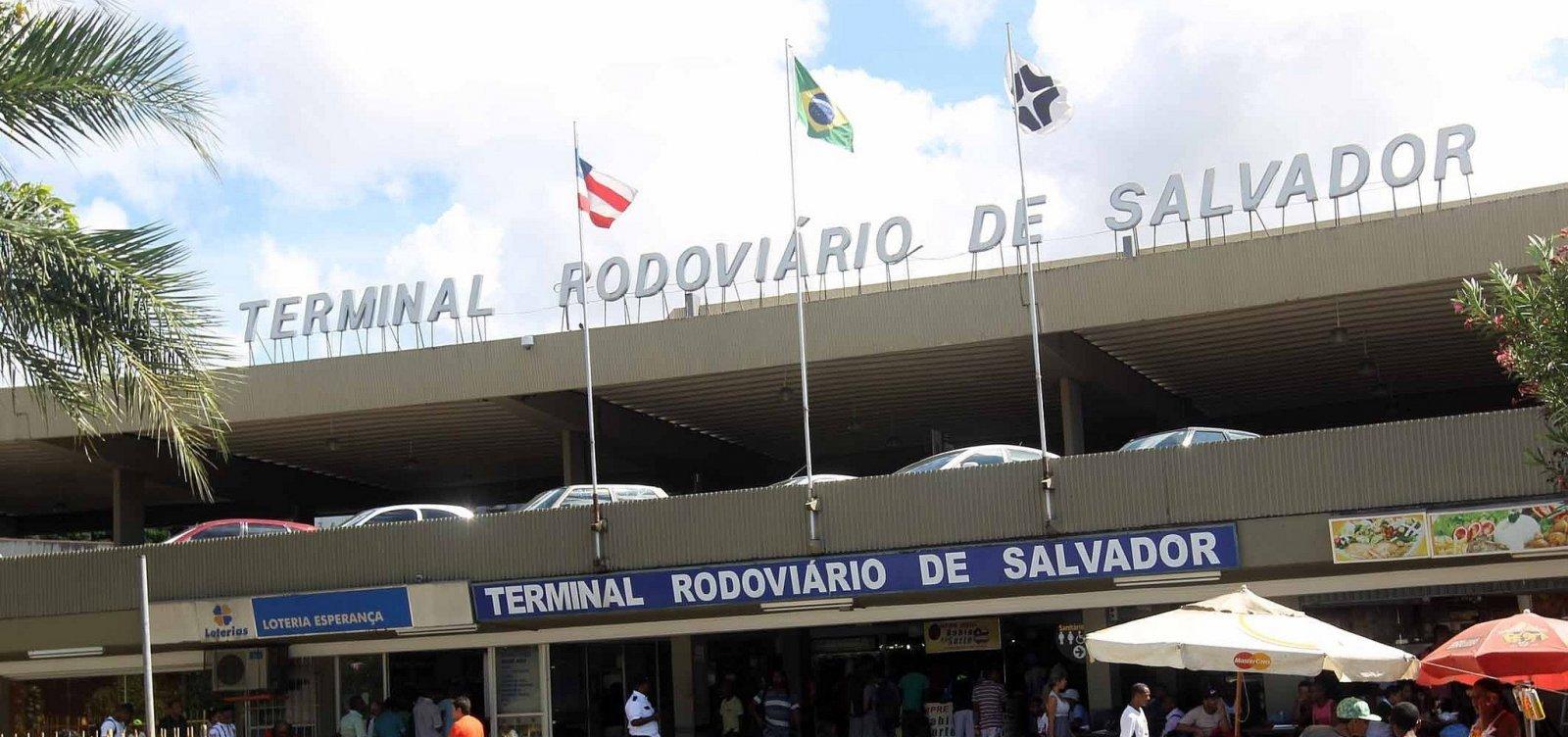 Feriadão: rodoviária de Salvador deve receber mais de 20 mil passageiros