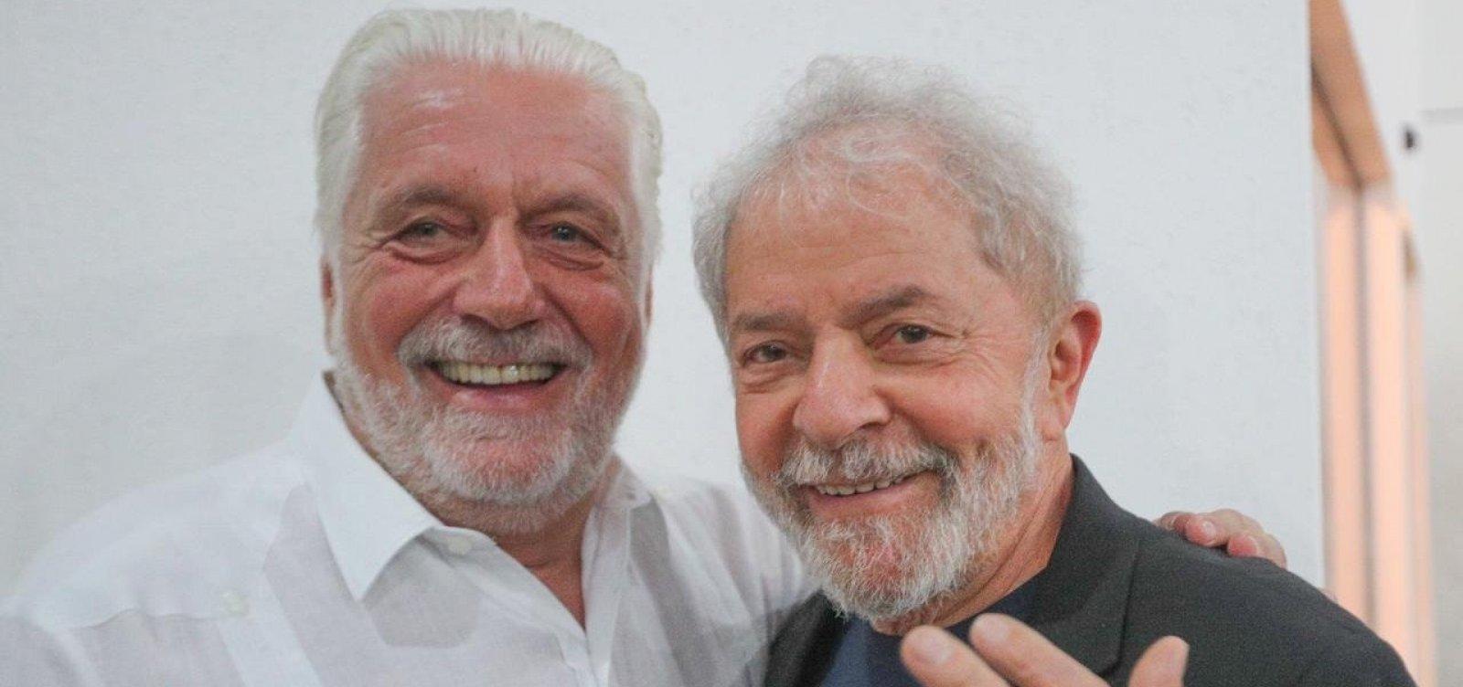 Wagner diz que medir Lula por discurso após saída da prisão é 'equívoco'