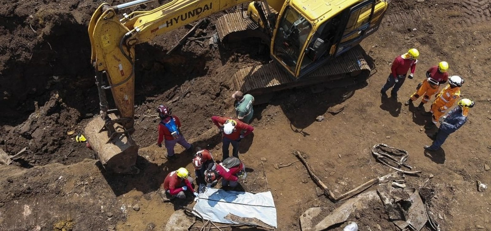 Nova vítima da barragem de Brumadinho é encontrada