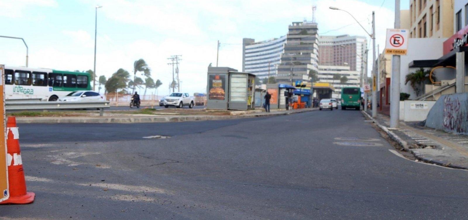 Trânsito em Salvador amanhece sem complicações