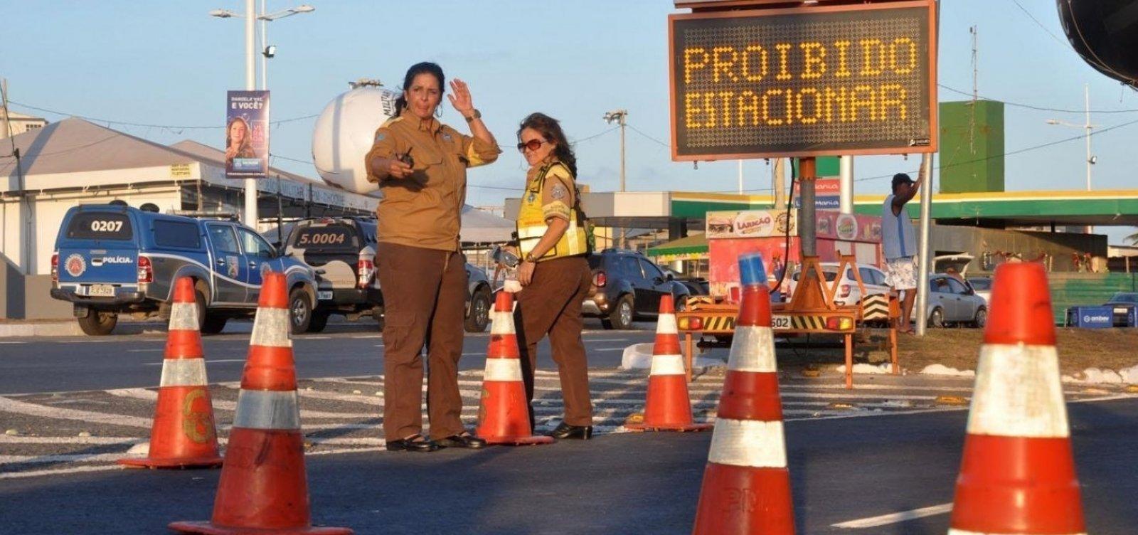 Eventos alteram o tráfego de veículos em Salvador no feriadão