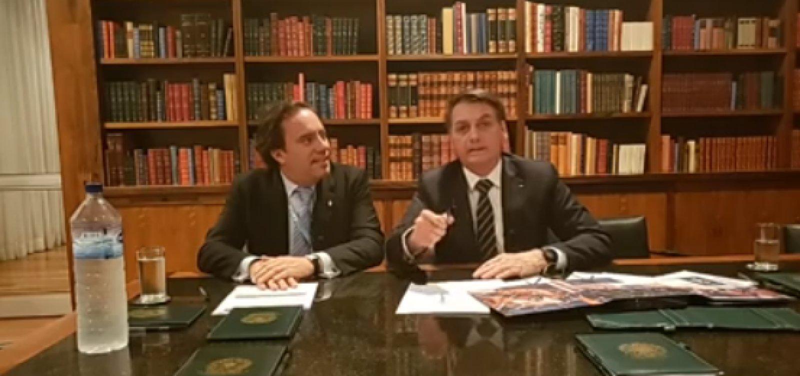Bolsonaro comenta realização do Enem sem menção à ditadura: 'nunca houve'